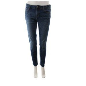ZARA TRAFALUC Medium Wash Denim Slim Fit Jeans
